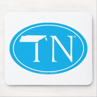 Staatsstolz-Euro: TN Tennesse Mousepad