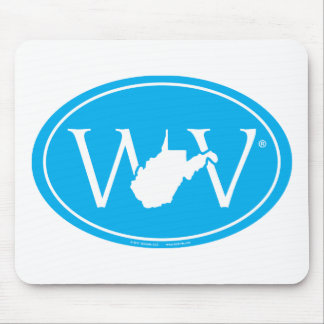 Staatsstolz-Euro: WV West Virginia Mousepad
