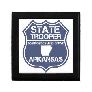 StaatTrooper, zum von Arkansas zu schützen und zu Schmuckschachtel