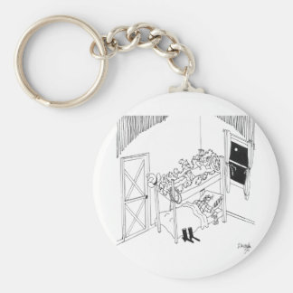 Stacheldraht-Cartoon 5103 Schlüsselanhänger