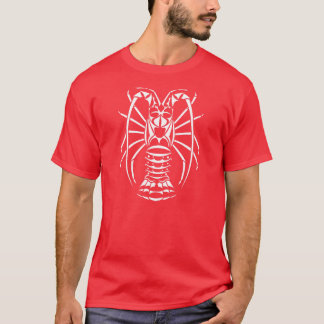 Stacheliger Hummer-Rot-T - Shirt