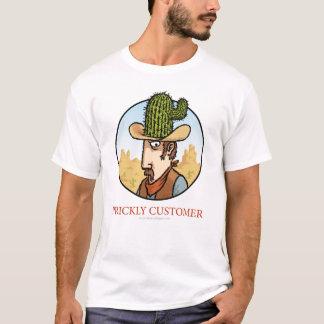 Stacheliges Kunden-Cowboy-Shirt T-Shirt