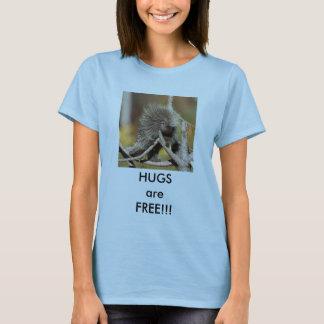 Stachelschwein umarmt T - Shirt
