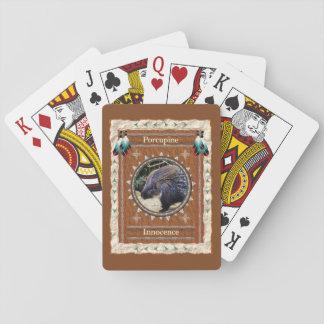 Stachelschwein - Unschulds-klassische Spielkarten