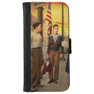 Stadt - Amsterdam NY - die Bowlingskerbe 1941 Geldbeutel Hülle Für Das iPhone 6/6s