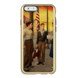 Stadt - Amsterdam NY - die Bowlingskerbe 1941 Incipio Feather® Shine iPhone 6 Hülle