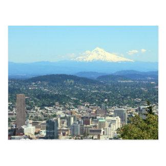 Stadt-Ansicht Portlands, Oregon, Postkarte