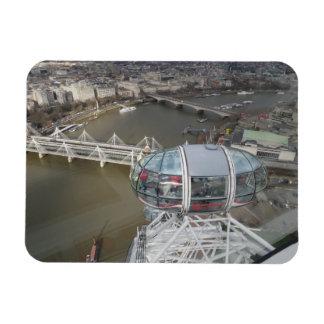 """Stadt-Ansicht von London-Auge 3"""""""" Magnet x4"""
