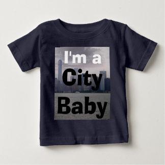 Stadt-Baby-Kleinkind-Shirts New York Baby T-shirt
