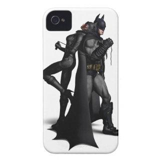 Stadt | Batman Batmans Arkham und Catwoman iPhone 4 Hülle