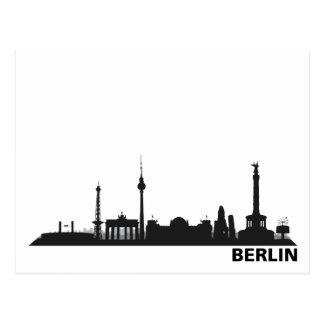 Stadt Berlin - Skyline 1c Postkarte