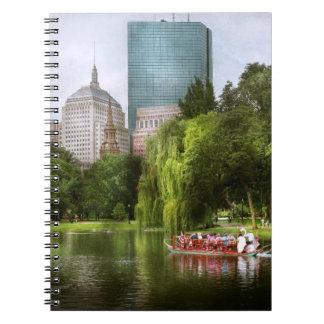 Stadt - Boston MA - allgemeiner Garten Bostons Notizblock