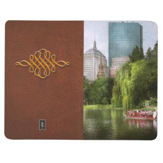 Stadt - Boston MA - allgemeiner Garten Bostons Taschennotizbuch