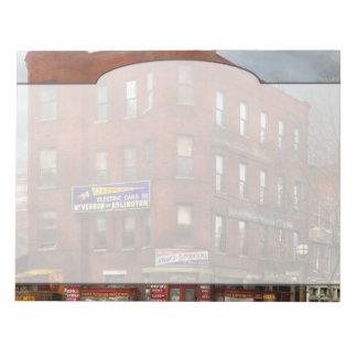Stadt - DC - Süßigkeit, Zigarren, Andenken 1920 Notizblock