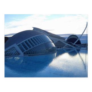 Stadt der Künste, der Wissenschaften und des Postkarte