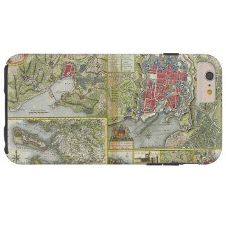 Stadt der La Rochelle-Karten-Belagerung im Jahre 1 Tough iPhone 6 Plus Hülle