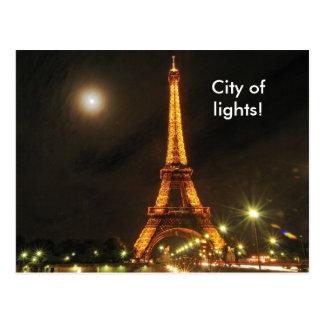 Stadt der Lichter, Stadt der Lichter! Postkarte