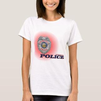Stadt des Polizeidienststelle-Hemdes Springfields T-Shirt