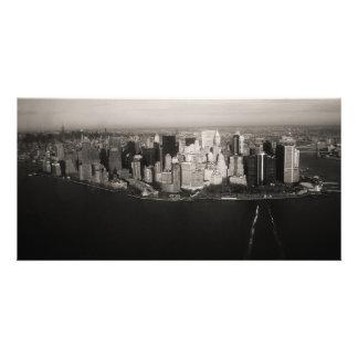 Stadt, die nie schläft fotogrußkarten