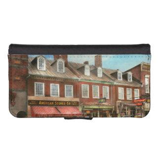 Stadt - Easton MD - eine Scheibe amerikanischen iPhone SE/5/5s Geldbeutel