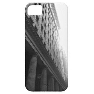 Stadt-Gebäude-Telefon-Kasten iPhone 5 Etui