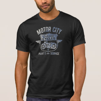 STADT-GEWOHNHEIT der Männer BEWEGUNGSfährt T - T-Shirt