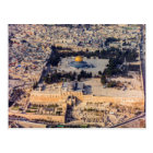 Stadt-Jerusalem-Haube des Tempelbergs alte des Postkarte