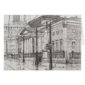 Stadt-Kunst-Galerie Manchester. 2007 Karte
