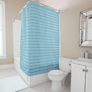 Stadt-Land-Blau-Bad-Dusche-Sammlungen Duschvorhang