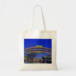 Stadt-Markt-Leinwand-Tasche