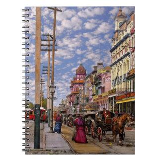 Stadt - New Orleans die viktorianische Ära 1887 Notizblock
