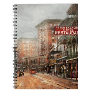 Stadt - New Orleans - ein Blick auf St- Spiral Notizblock