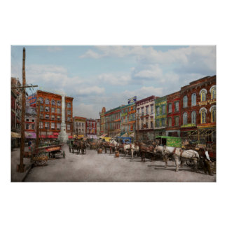 Stadt - Norfolk VA - Hardware und Alkohol - 1905 Poster