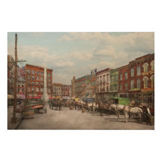 Stadt - Norfolk VA - Hardware und Alkohol - 1905 Holzdrucke