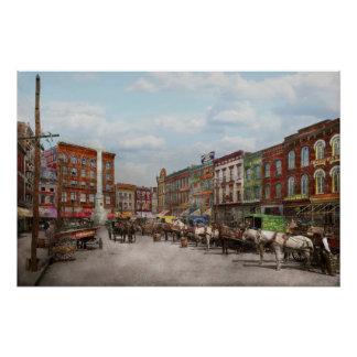 Stadt - Norfolk VA - Hardware und Alkohol - 1905 Perfektes Poster