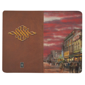 Stadt - NZ - der Einkaufsbezirk 1908 Taschennotizbuch