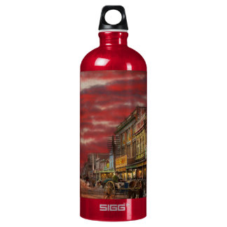 Stadt - NZ - der Einkaufsbezirk 1908 Wasserflasche