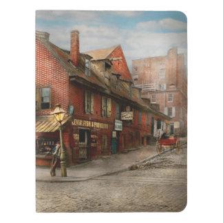Stadt - PA - Fische u. Bestimmungen 1898 Extra Großes Moleskine Notizbuch