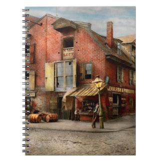 Stadt - PA - Fische u. Bestimmungen 1898 Notizblock