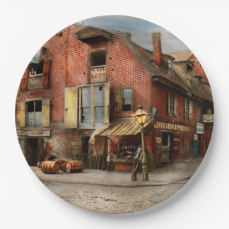 Stadt - PA - Fische u. Bestimmungen 1898 Pappteller