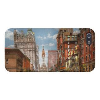 Stadt - PA Philadelphia - Broad Street 1905 iPhone 5 Hüllen