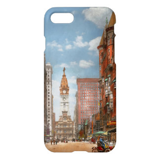 Stadt - PA Philadelphia - Broad Street 1905 iPhone 8/7 Hülle