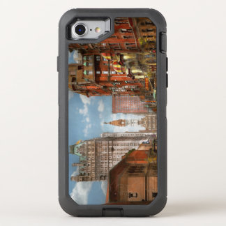 Stadt - PA Philadelphia - Broad Street 1905 OtterBox Defender iPhone 8/7 Hülle