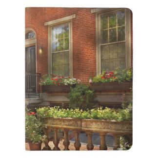 Stadt - PA Philadelphia - hübsches Philadelphia Extra Großes Moleskine Notizbuch