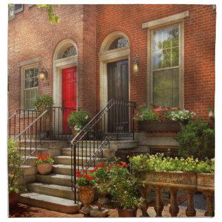 Stadt - PA Philadelphia - hübsches Philadelphia Serviette