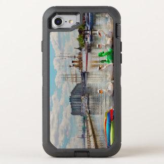 Stadt - Philadelphia, PA - der Ansammlungsplatz OtterBox Defender iPhone 8/7 Hülle