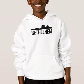 Stadt-Skyline Bethlehems Pennsylvania Hoodie