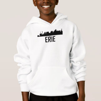 Stadt-Skyline Eries Pennsylvania Hoodie