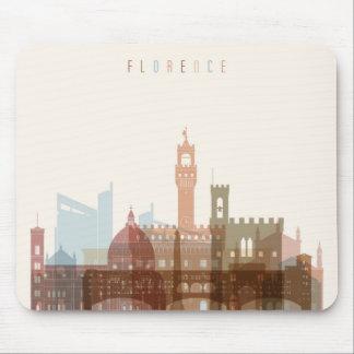 Stadt-Skyline Florenz, Italien | Mousepad