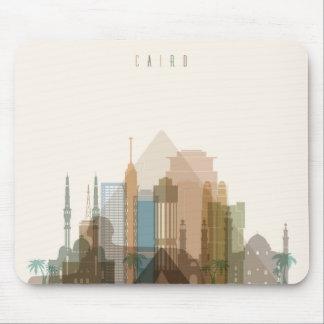 Stadt-Skyline Kairos, Ägypten | Mousepad